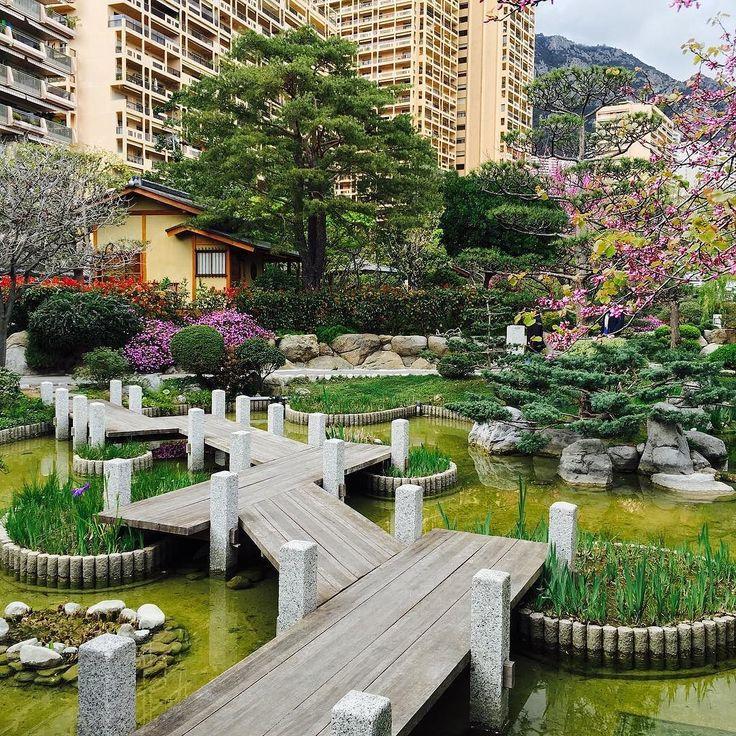 Montecarlo garden japanese jardin japonais culture for Jardin japonais monaco