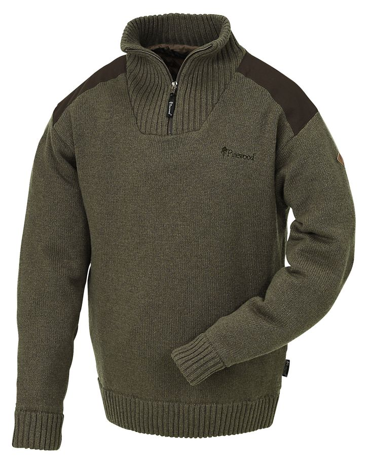 $105 Pinewood New Stormy Knitted Sweater - Brown Melange