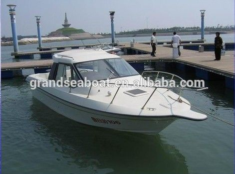 25ft Fiberglass Cabin Cruiser Boat