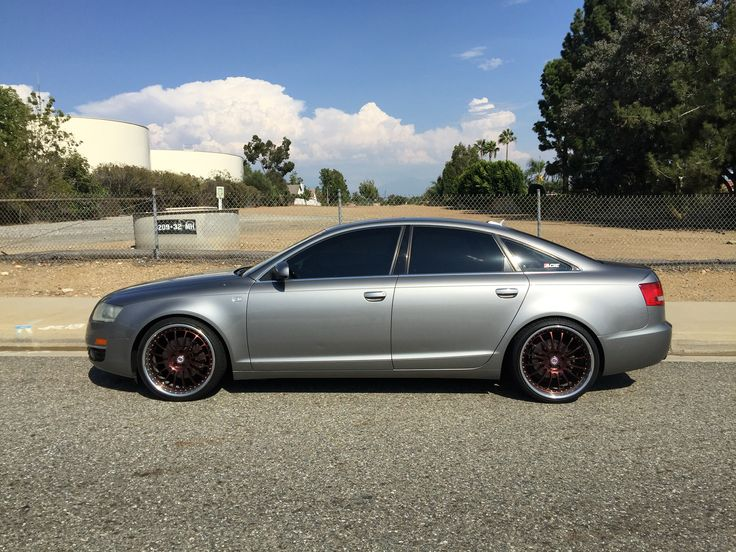 2006 Audi A6 C6 with a set of Hre 549r