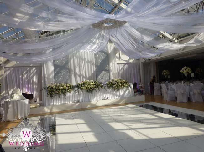 Ceiling canopy and glitter backdrop. .theweddinglounge.com & 16 best Ceiling Canopy images on Pinterest | Ceiling canopy ...