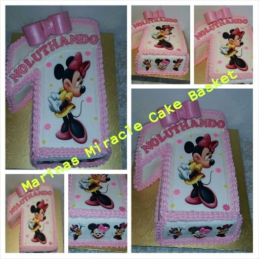 Minnie mouse fig 1 cake by Marina Kirk-Osman