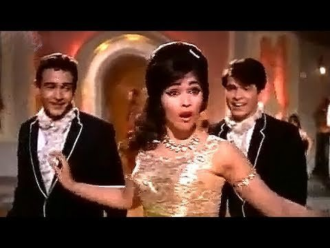 Super cool Bollywood number - Jan Pehchan Ho - Mohammed Rafi, Gumnaam Song.  Amazing dancing!