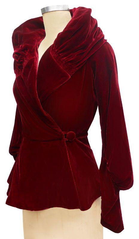 399 best velvet images on Pinterest | Vintage clothing, Vintage ...