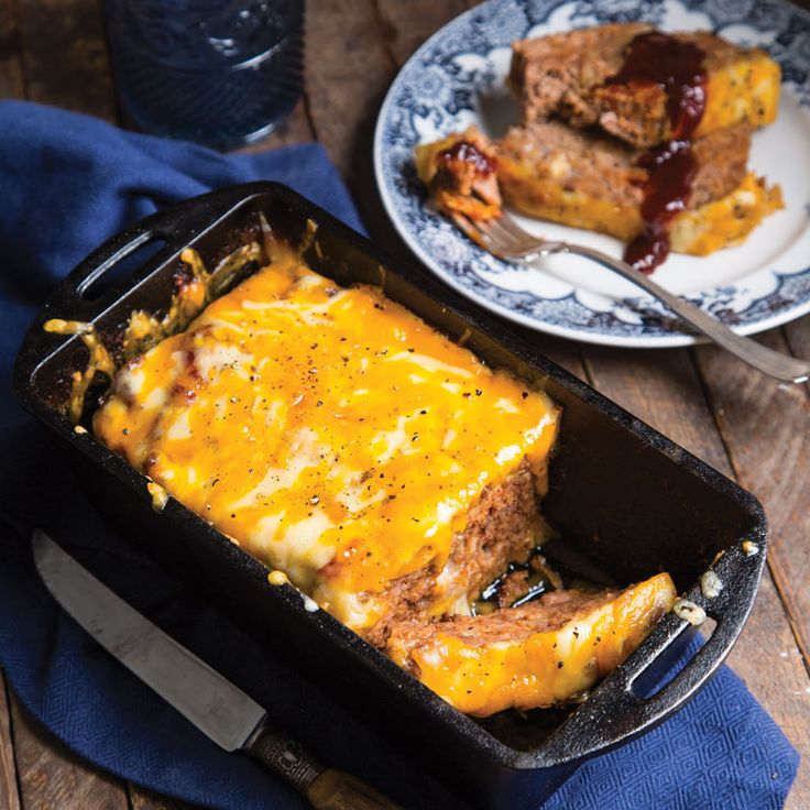 Spicy Cheesy Meatloaf with Caramelized Onions