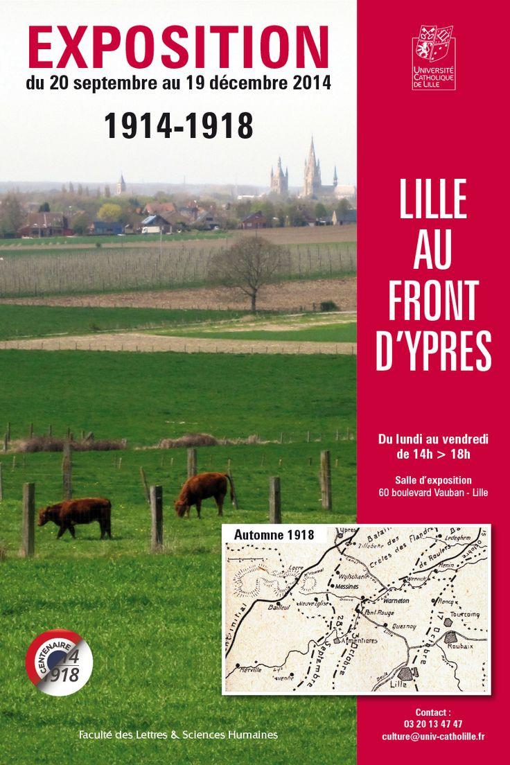 """""""Lille au front d'Ypres"""" - 14-18"""