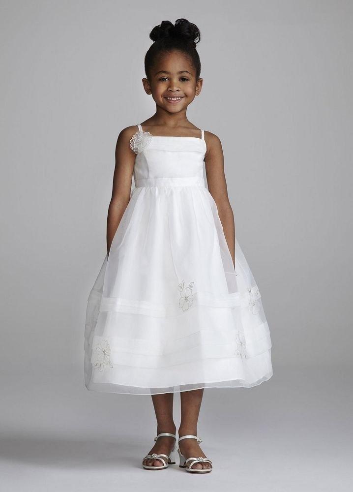 Flower Girl Dresses Davids Bridal White : Best images about flower girl dresses on