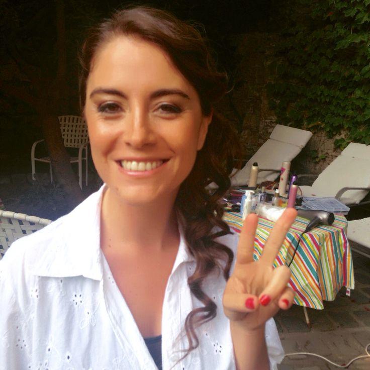 Maquillaje y Peinado, para un momento inolvidable! ✨ Novia Loreto Echeverría