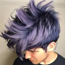 Image result for aqua hair punk guy