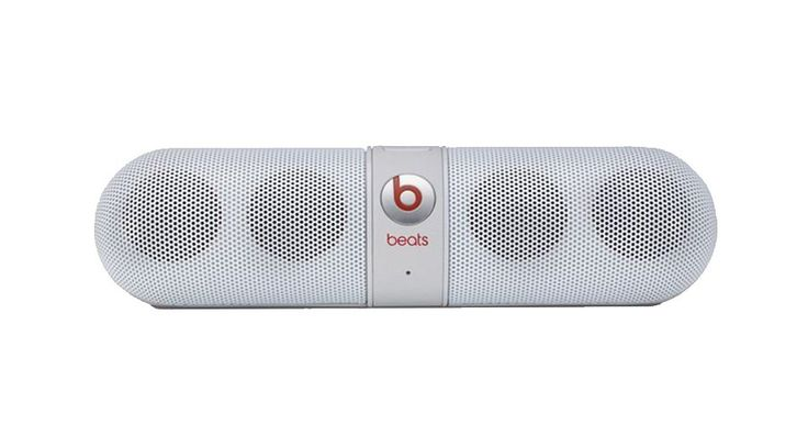 Beats Pill Speaker Portable. White portable speaker is a must if you love to hear a music, this beats portable speaker allow you to carry it everywhere, with white color, super hype speaker that will bring fun to everyone. http://www.zocko.com/z/JEoQx