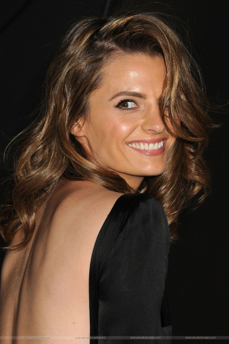 Stana Katic Hairstyles Castle  Fade Haircut-7214