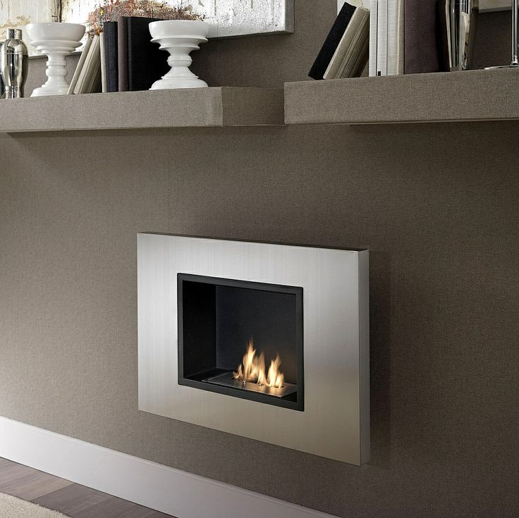 I like the idea of a small wall hung contemporary ethanol fireplace for the main bedroom or the room off ur main bedroom. It just uses a special gel to light. Just can't remember if there is a spare wall. Need to look at plans again. (Bioethanol Fireplace. Elegant and modern design.)