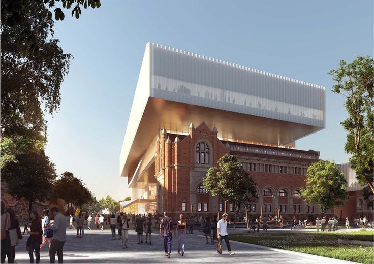 OMA + Hassell - new museum in Western Australia - the civic space is conceived as a collection of physical and virtual 'stories' (you can definitely see the OMA bent)