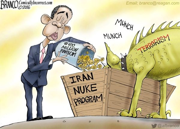Iranian Stimulus Package – The $400 million ransom Obama paid to Iran in the dark of night will no doubt be going to Iran's nuclear program…