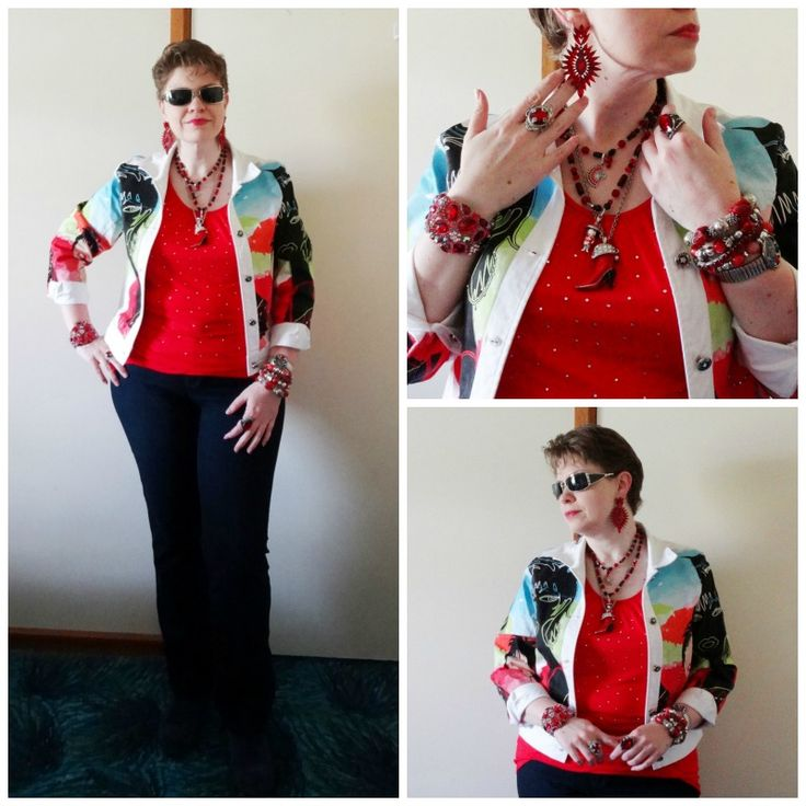 JDS - MY STYLE - eBay jacket and Kmart top - more details on the blog - http://jeweldivasstyle.com/my-style-september-style/