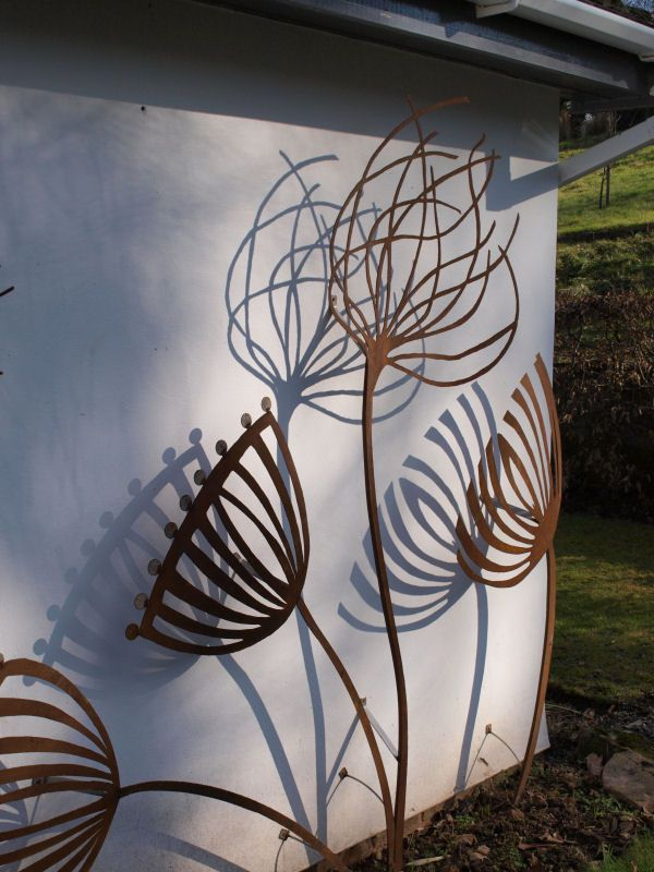 Metal Sculpture For Home And Garden Commissions Undertaken   Wall Mounted  Sculptures