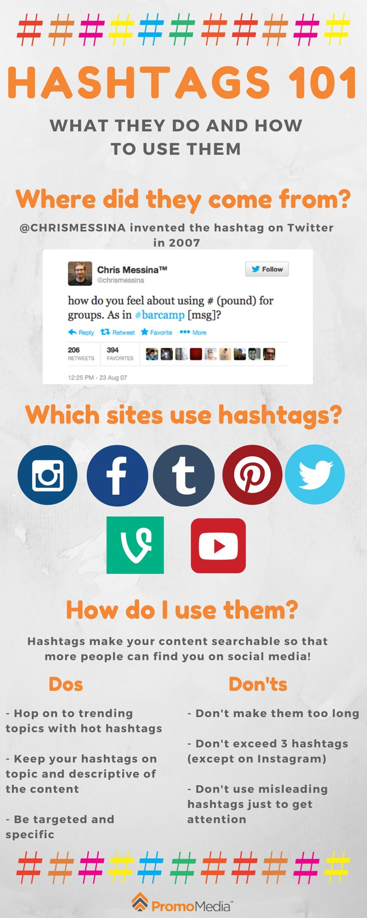 Hashtags 101: What They Do and How to Use Them
