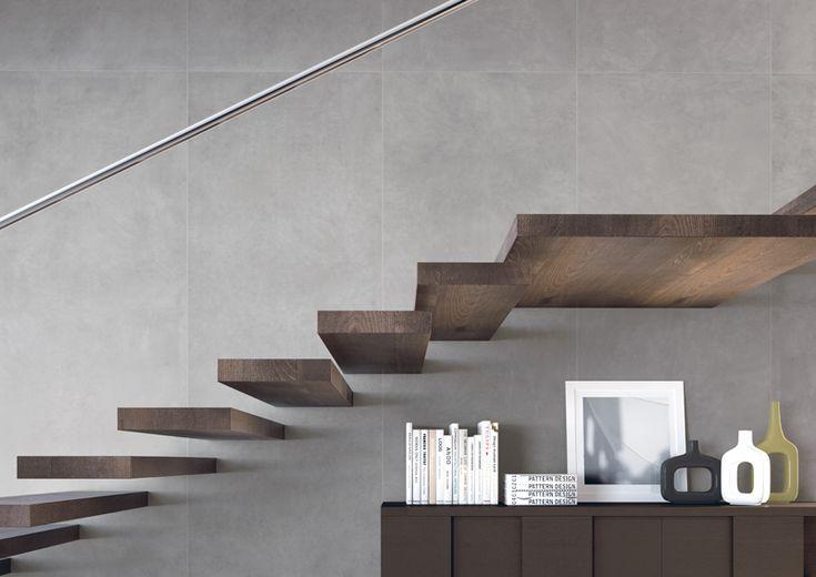 Slimtech in grande formato (3 metri x 1) effetto resina in gres laminato UGL, con uno spessore di 3mm, ideale per pavimenti e rivestimenti interni.