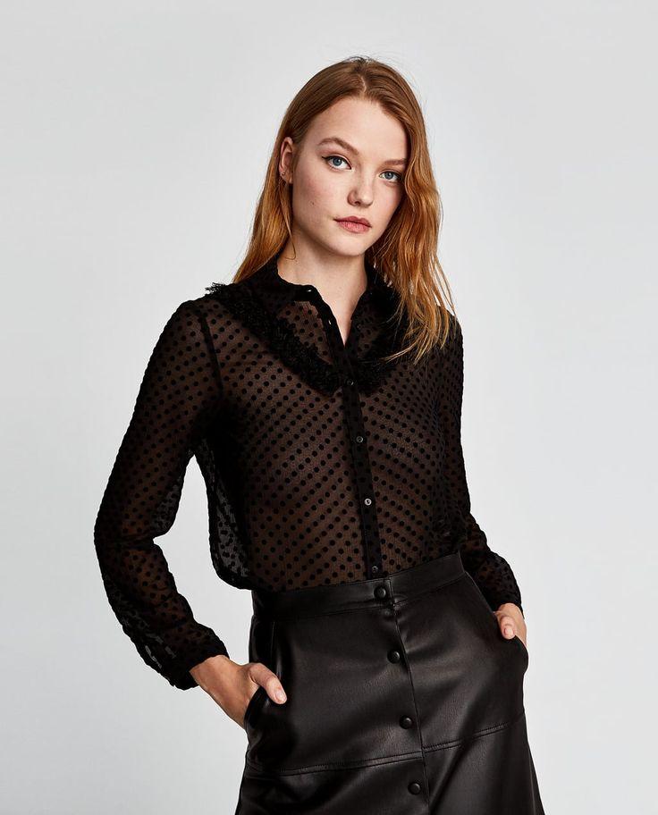 Онлайн в прозрачной блузке — pic 13