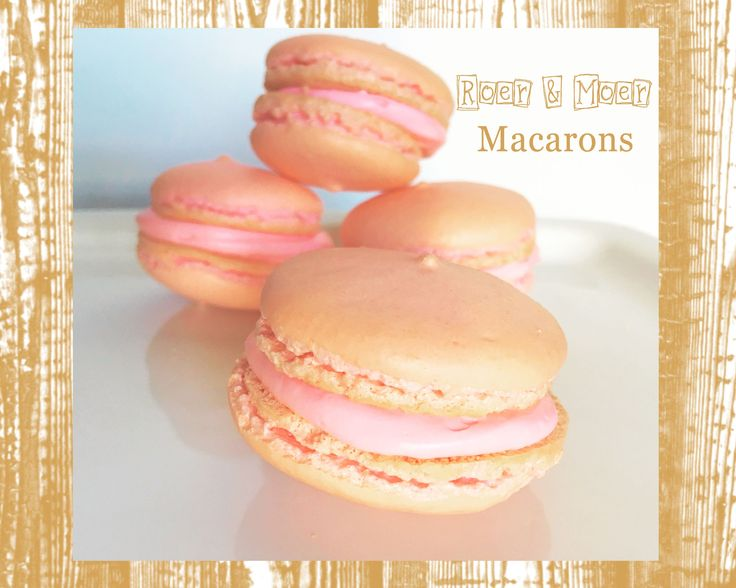 How to make a macaron.