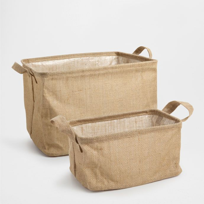 FOLDABLE JUTE BASKET - Baskets - Decoration | Zara Home United States of America