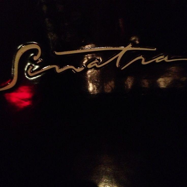 The world-famous Sinatra restaurant in Las Vegas [Nevada]