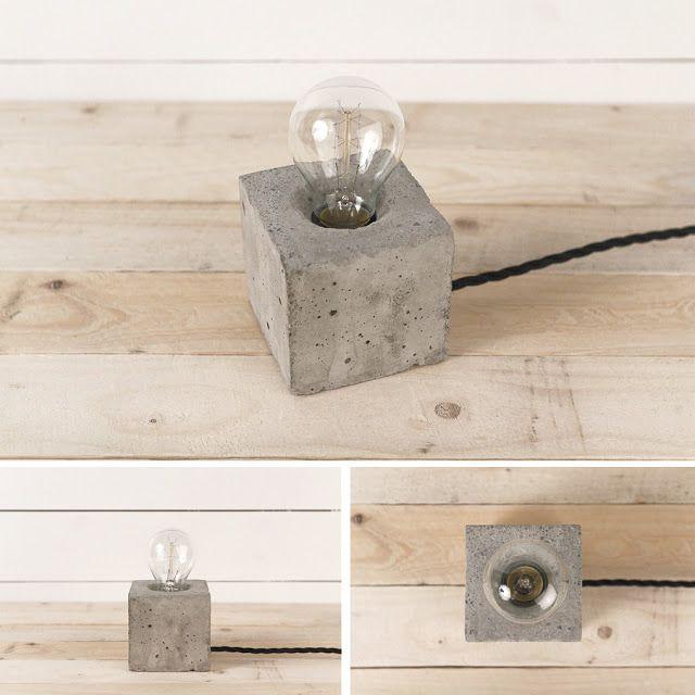 concrete lamps by henrik karlsson diy pinterest concrete cement and concrete projects. Black Bedroom Furniture Sets. Home Design Ideas