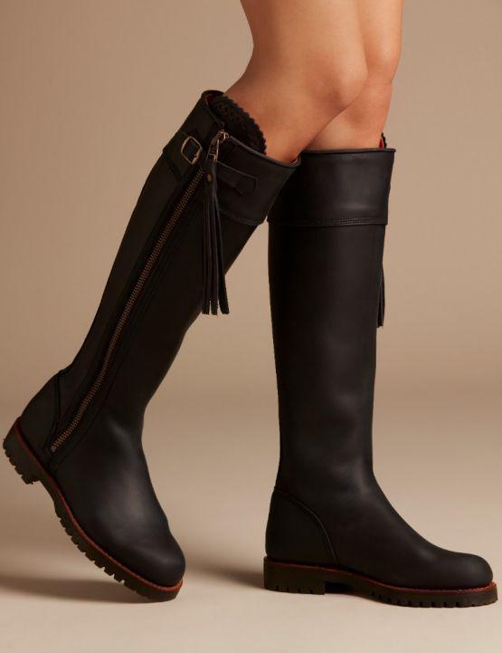 aeaeea06428 Long tassel boot | Kleren | Long boots, Boots, Tassels