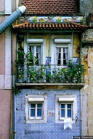 Windows of Alfama