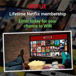 How To Win A Lifetime Netflix Membership - Kaloola is giving away a lifetime Netflix membership. Enter today for your chance to win the membership. The registration process is easy. It will take you only a few minutes to complete.  Netflix specializes in and provides streaming media and video on demand and DVD by mail. You can watch it on your smart TV, game console, PC, Mac, mobile, tablet and more. Sign up now!