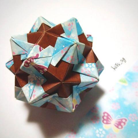 クリスマス 折り紙 くす玉 折り紙 : jp.pinterest.com