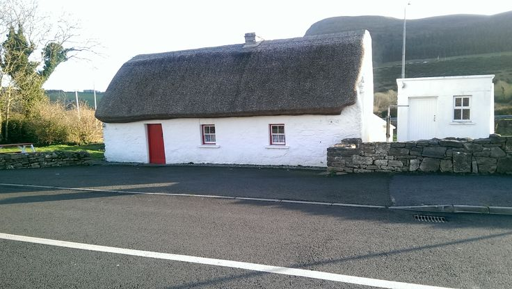 Dolly's cottage in Strandhill, county Sligo, Ireland. The cottage is over 200 years old and was named after the last occupant Dolly Higgins, it is opened to the public in the summer and at Christmas.  The ICA (Irish Countrywoman's Association bought the cottage in 1970 to preserve it in and they sell Irish crafts from the cottage.