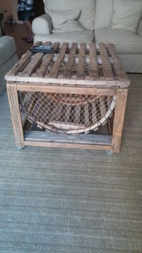 Lobster Trap Coffee Table                                                                                                                                                      More