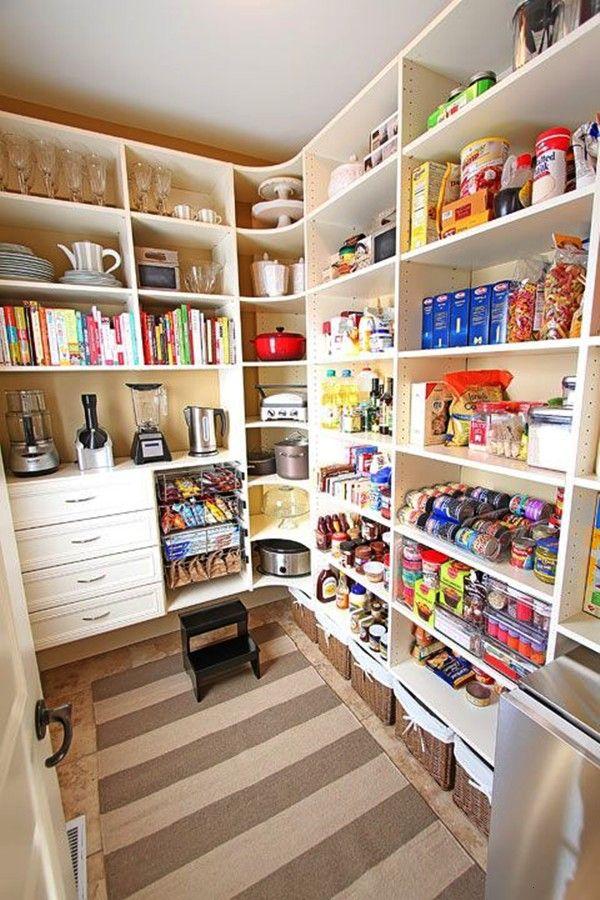 Speisekammerideen Kchespeisekammer Vorratskammer Aufbewahrung Organization Organisierte Abstellraum Vorratsraum In 2020 Pantry Design Pantry Room Pantry Layout