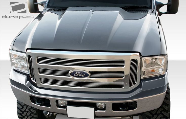1999-2007 Ford Super Duty F250 F350 F450 F550    2000-2005 Ford Excursion Duraflex Cowl Hood