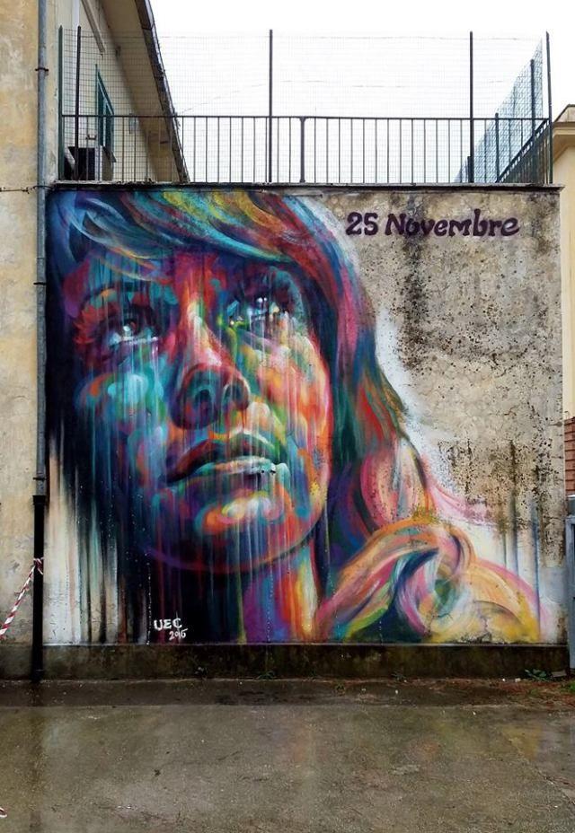 Sema Lao Colored Emotions Street Art Graffiti Amazing Street Art Street Art