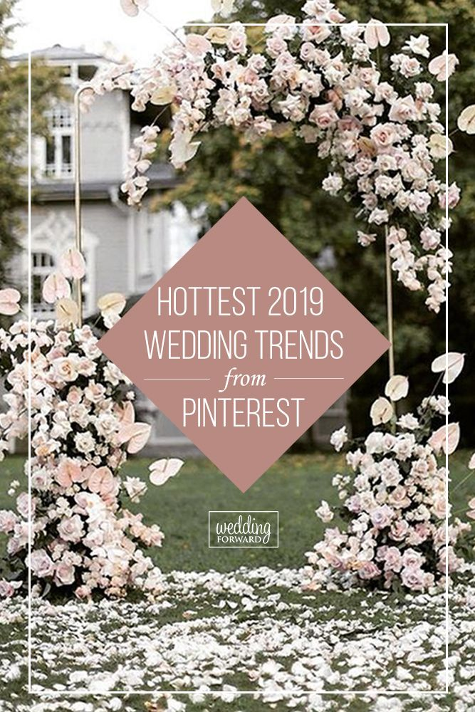 20 The Biggest Wedding Trends In 2020 Floral Wedding Decorations