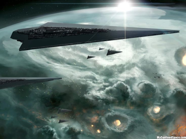 Orbital Star Destroyer bombardment- battle of borealis yea I'm a nerd LOVE ME SOME STAR DESTROYERS!!!