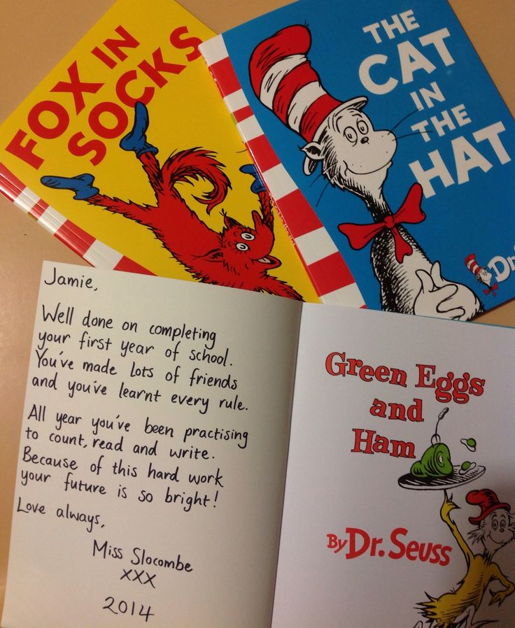 Bought Dr. Seuss Books For My Students' End Of Year