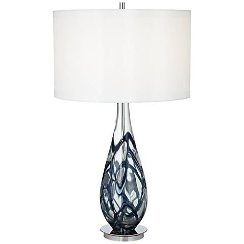 Fillable glass table lamp base lamps ideas - 1000 Ideas About Glass Table Lamps On Pinterest Glass