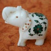 Marble Elephant from Lal10.com