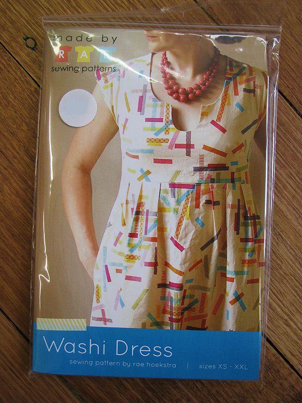 Washi Dress - Made by Rae / The Drapery