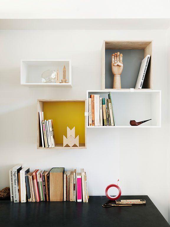 Perfekt abgestimmt: Wandregal Stacked Mini von Muuto - Neue Ideen für kahle Wände 3 - [SCHÖNER WOHNEN]