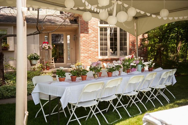 Outdoor Country Wedding Shower Ideas: 25+ Best Ideas About Backyard Bridal Showers On Pinterest
