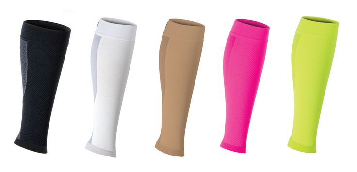 Relieve Pain Caused by Sore Aching Legs and Feet, Cramping and Shin Splints with One Light, Comfortable Calf Sleeve