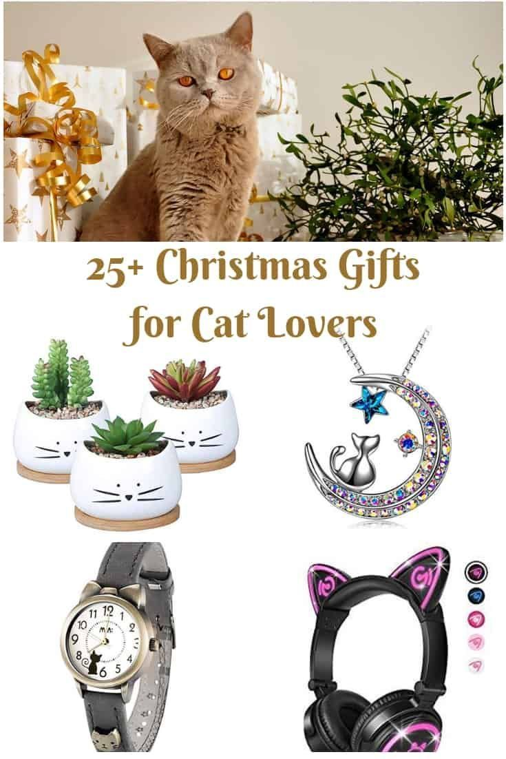 25 Christmas Gifts For Cat Lovers What To Buy A Cat Lover For Christmas Giftguide Cat Lover Gifts Cat Christmas Gift Cat Gifts