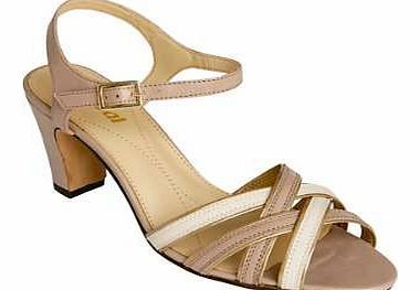 Van Dal Strap Sandals Feminine heeled sandals with multi coloured cross over straps and adjustable ankle strap fastening. Van Dal Sandals Features: Upper: Leather Lining, sock  sole: Other materials Heel height approx. 6. http://www.comparestoreprices.co.uk/womens-shoes/van-dal-strap-sandals.asp