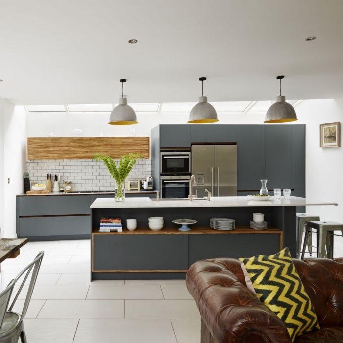 1001 Kleines Wohnzimmer Mit Essbereich Ideen In 2020 Offene Kuche Halboffene Kuche Wohnzimmer Design