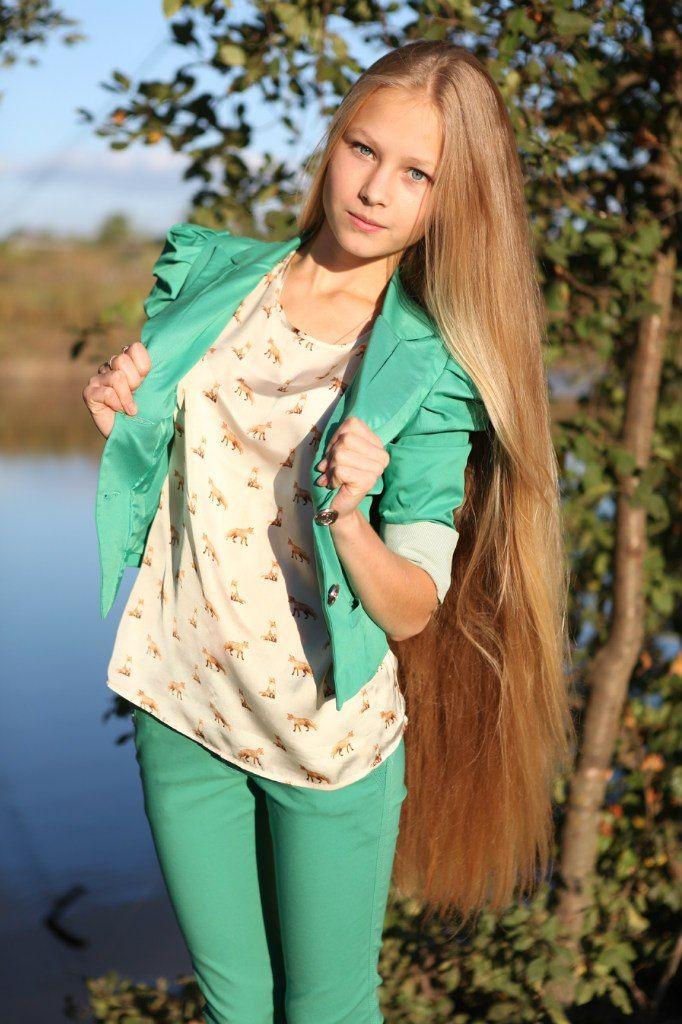 волосы славянские азиатские