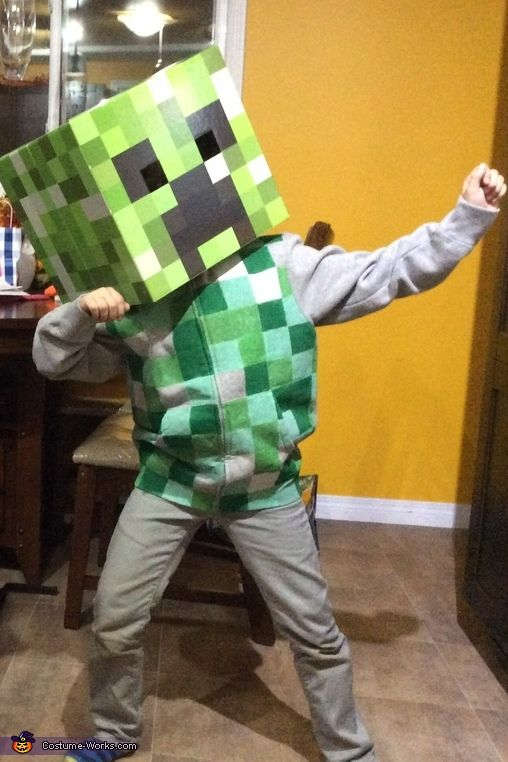 17 Best Ideas About Creeper Costume On Pinterest Steve